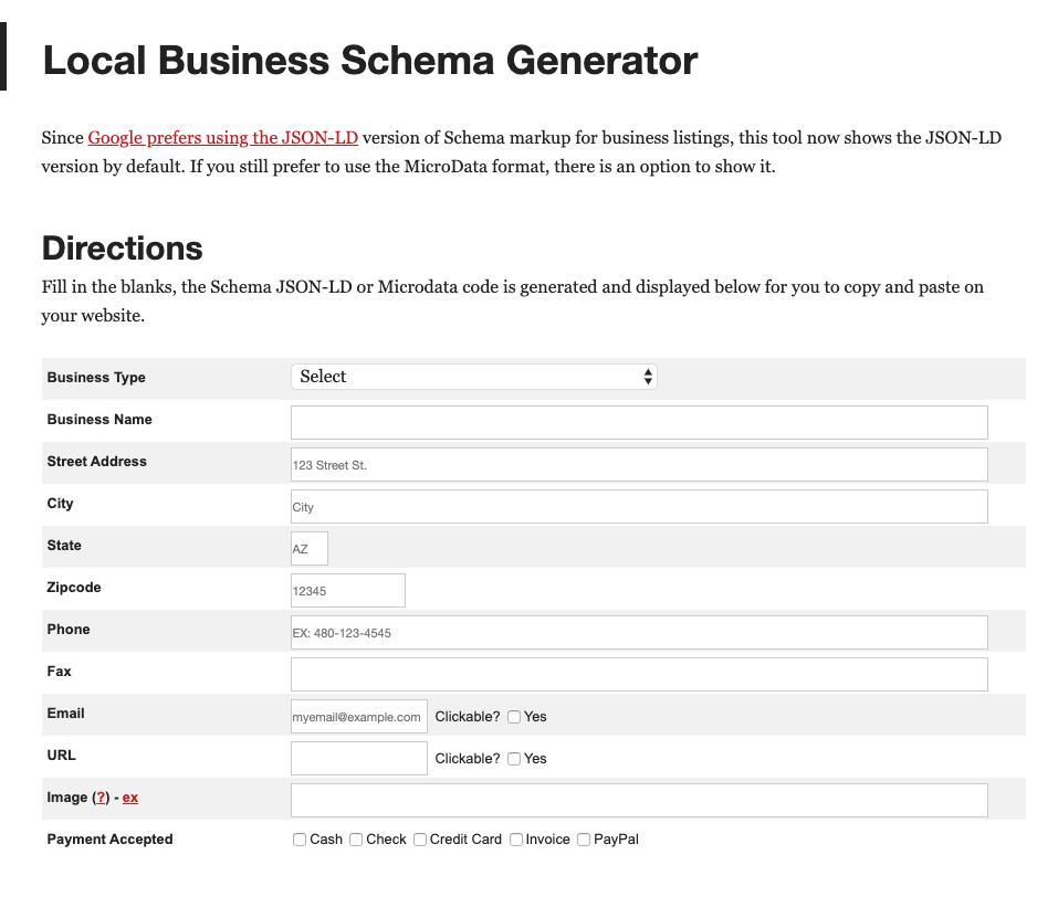 Microdata Generator